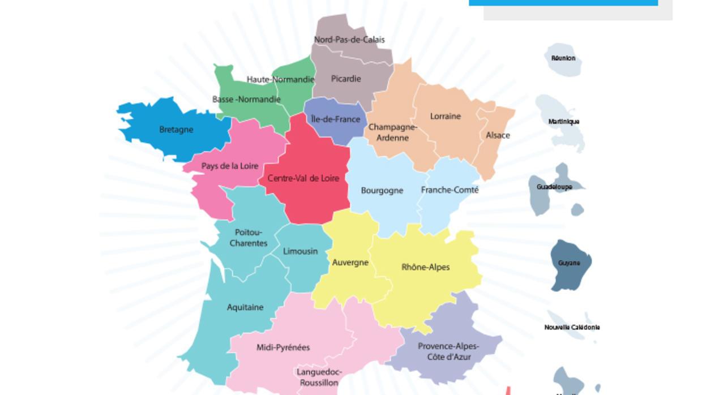 Nouvelles Grandes Régions: Le Grand Est Et Le Nord à Nouvelles Régions En France