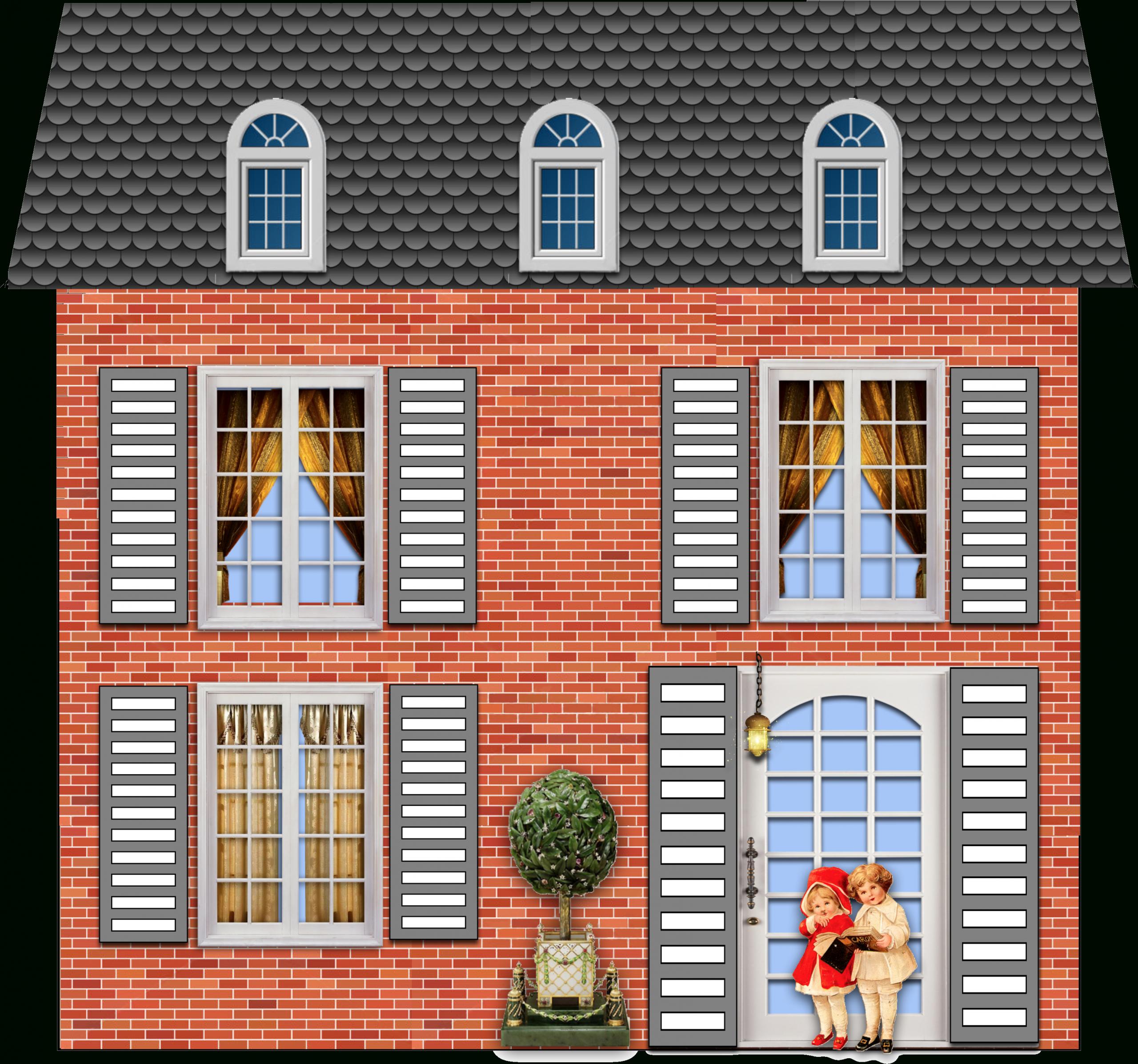 Nouvelles Petites Maisons À Imprimer Et Découper destiné Maison Papier A Decouper