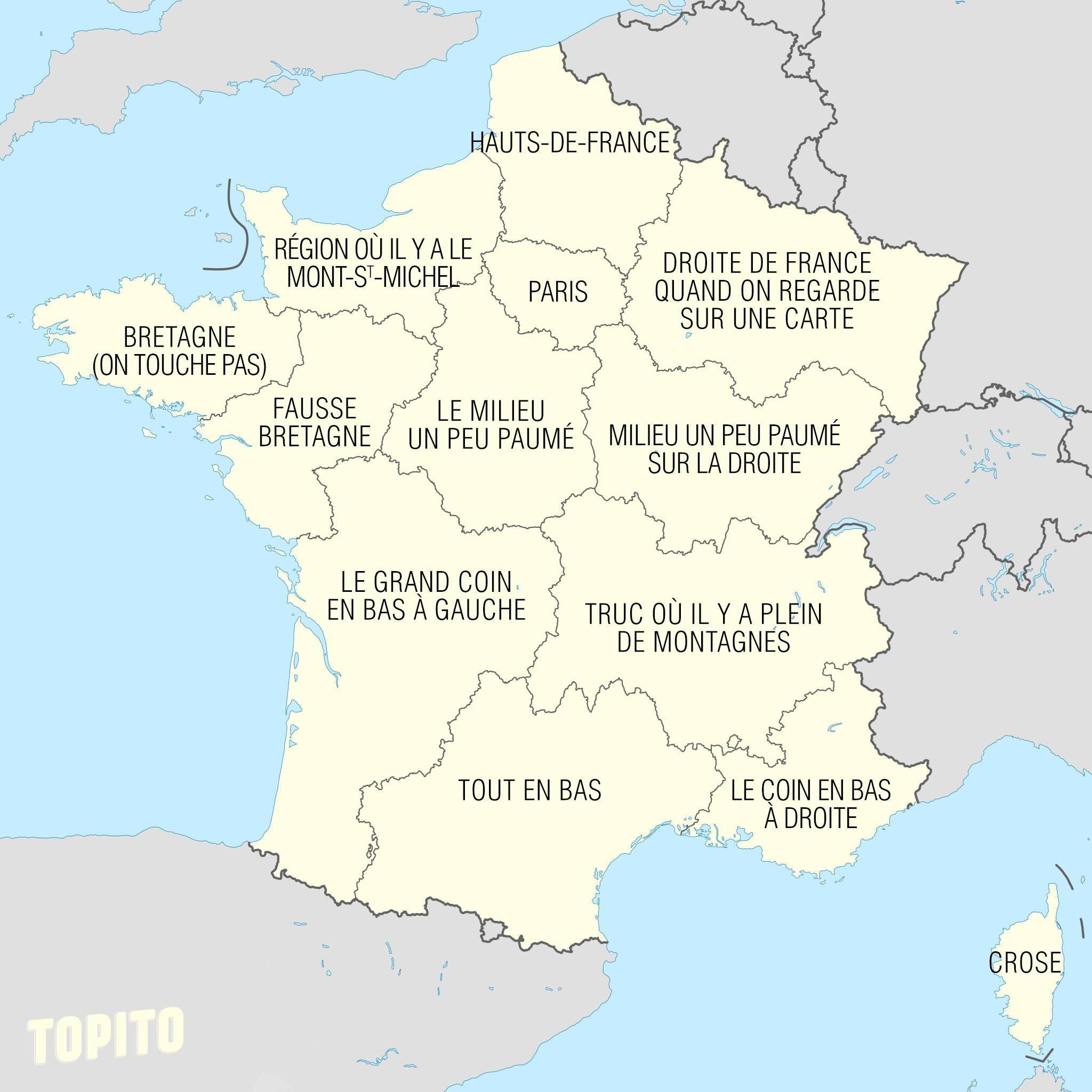 Nouvelles Régions De France! - Délit D'im@ges concernant Nouvelles Régions De France