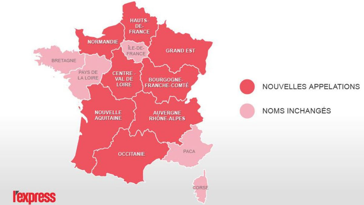 Nouvelles #regions De #france: (Rmation) - Jetelle tout Nouvelles Régions En France