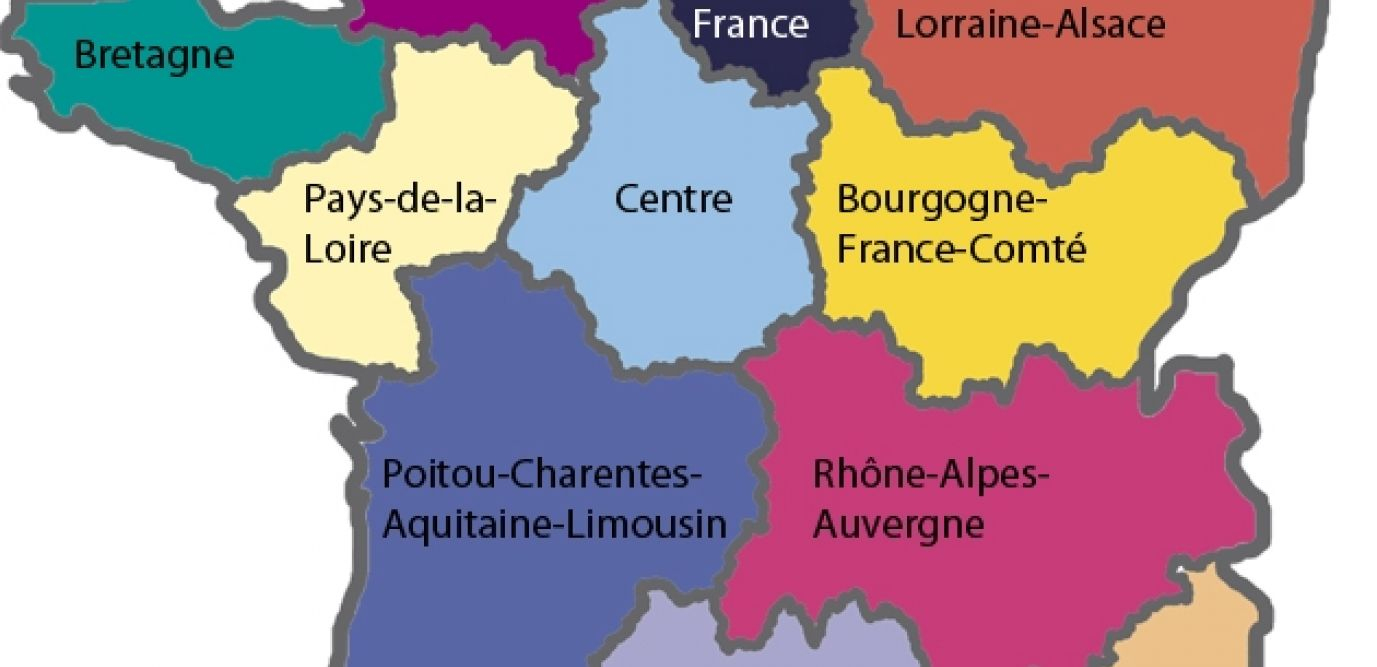Nouvelles Régions : Laquelle Est La Plus Riche ? La Plus destiné Les Nouvelles Régions De France Et Leurs Départements
