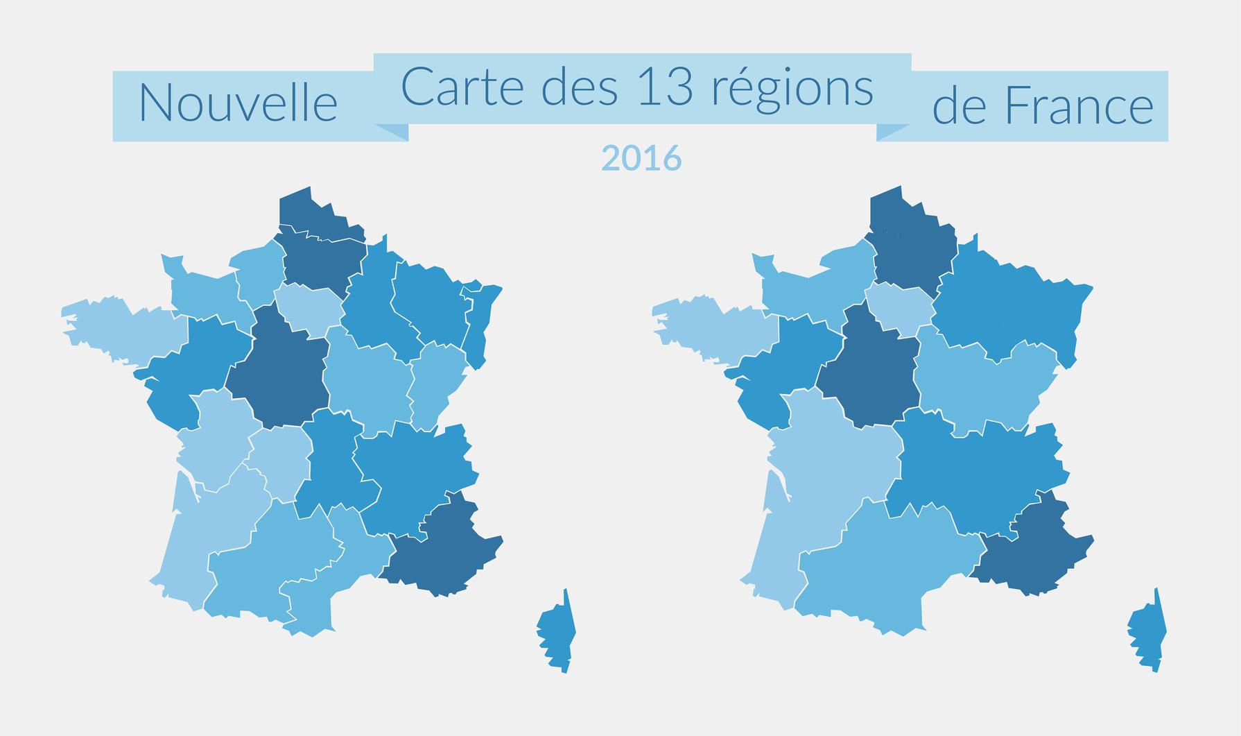 Nouvelles Régions : Quelles Conséquences Sur La Com Locale ? avec Les Nouvelles Régions De France