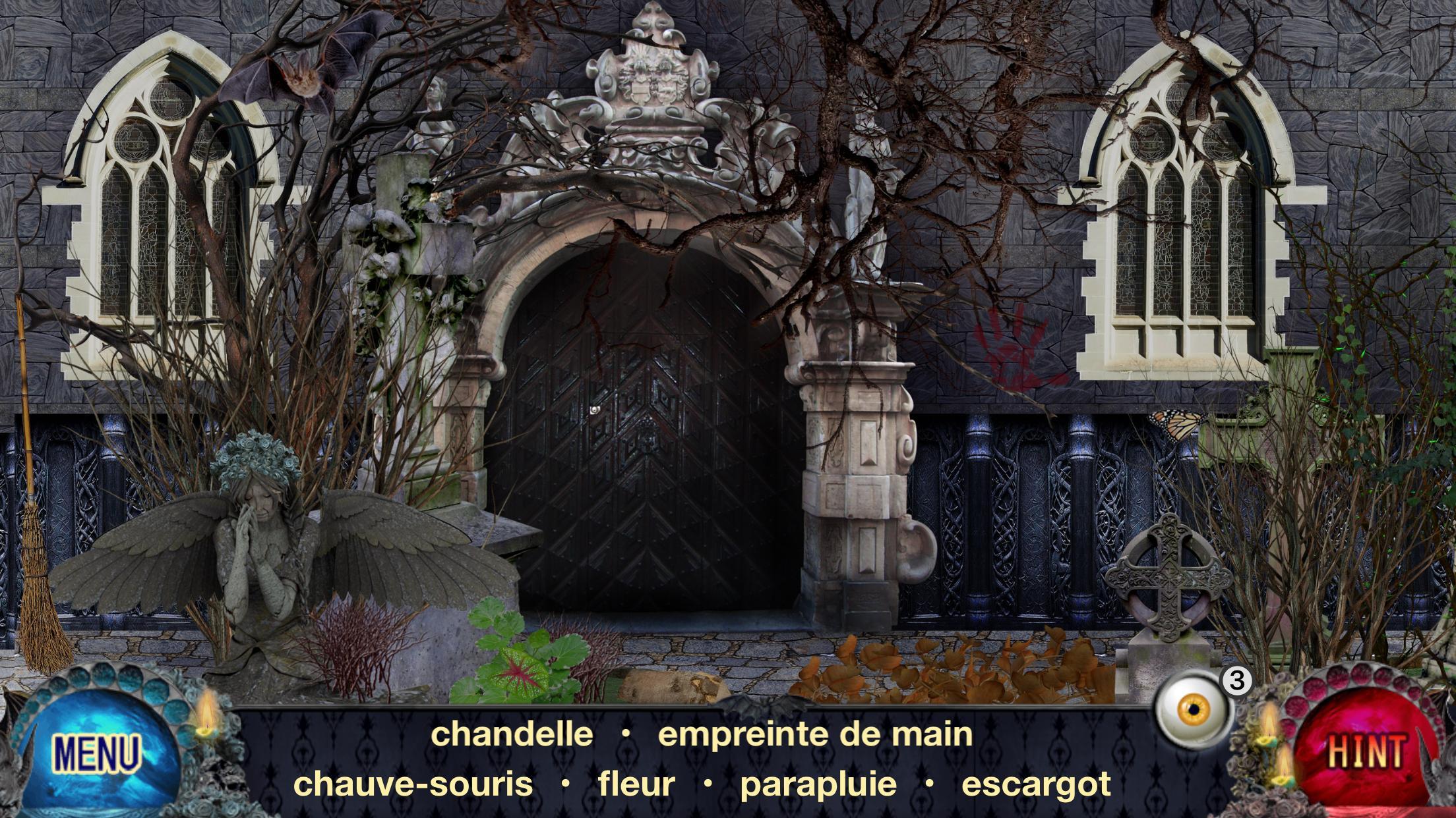 Objets Cachés Gratuits - Vampire. Jeux D'aventure Pour intérieur Jeux Gratuit Escargot