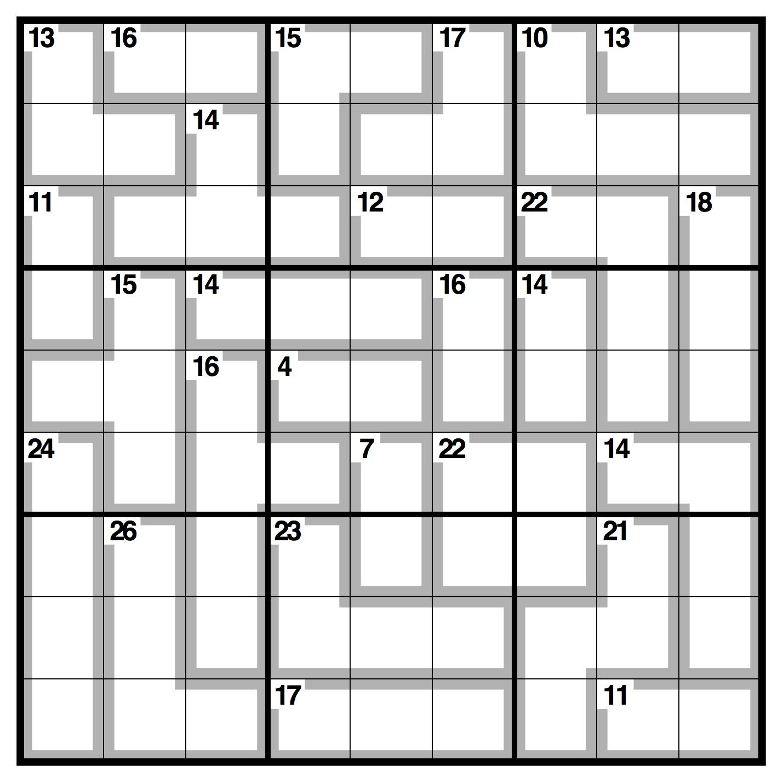 Observer Killer Sudoku | Life And Style | The Guardian concernant Sudoku A Imprimer