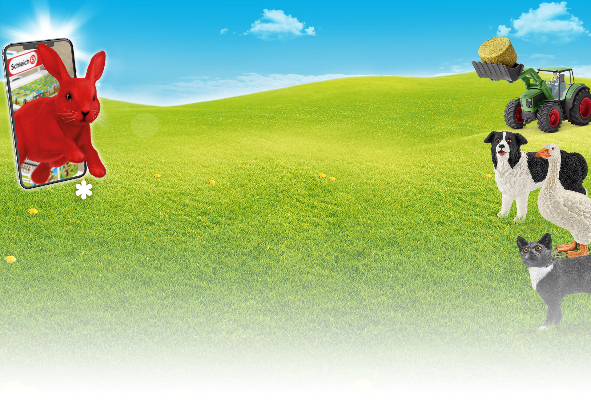 Occupe-Toi Des Animaux De La Ferme Avec Le Tracteur Schleich® à Jeux De Ferme Gratuit Avec Des Animaux