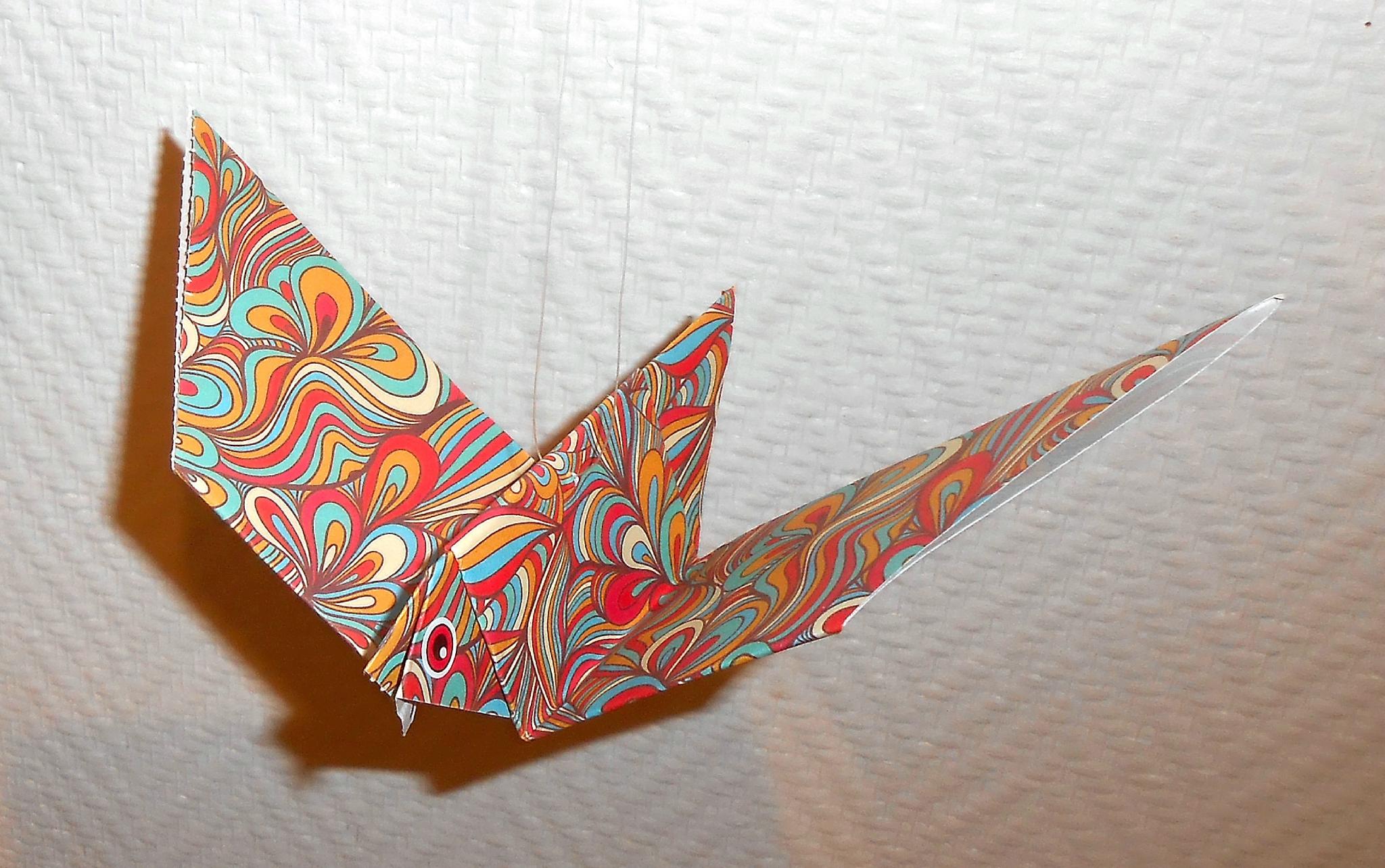 Oiseau En Papier - Origami Vraiment Simple - La Maison Féerique intérieur Pliage Papier Enfant