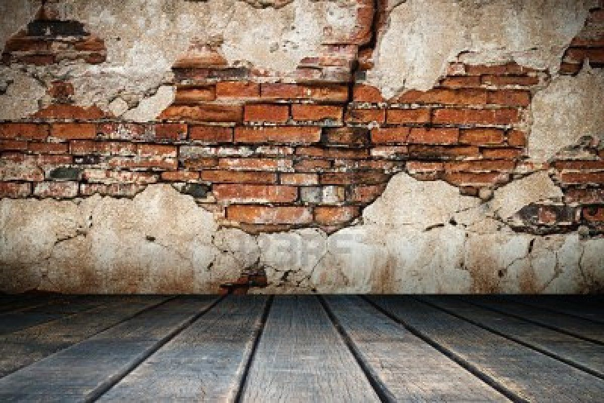Old Brick Wall And Wood Floor Nice Texture Backgrounds | Old destiné Casse Brick