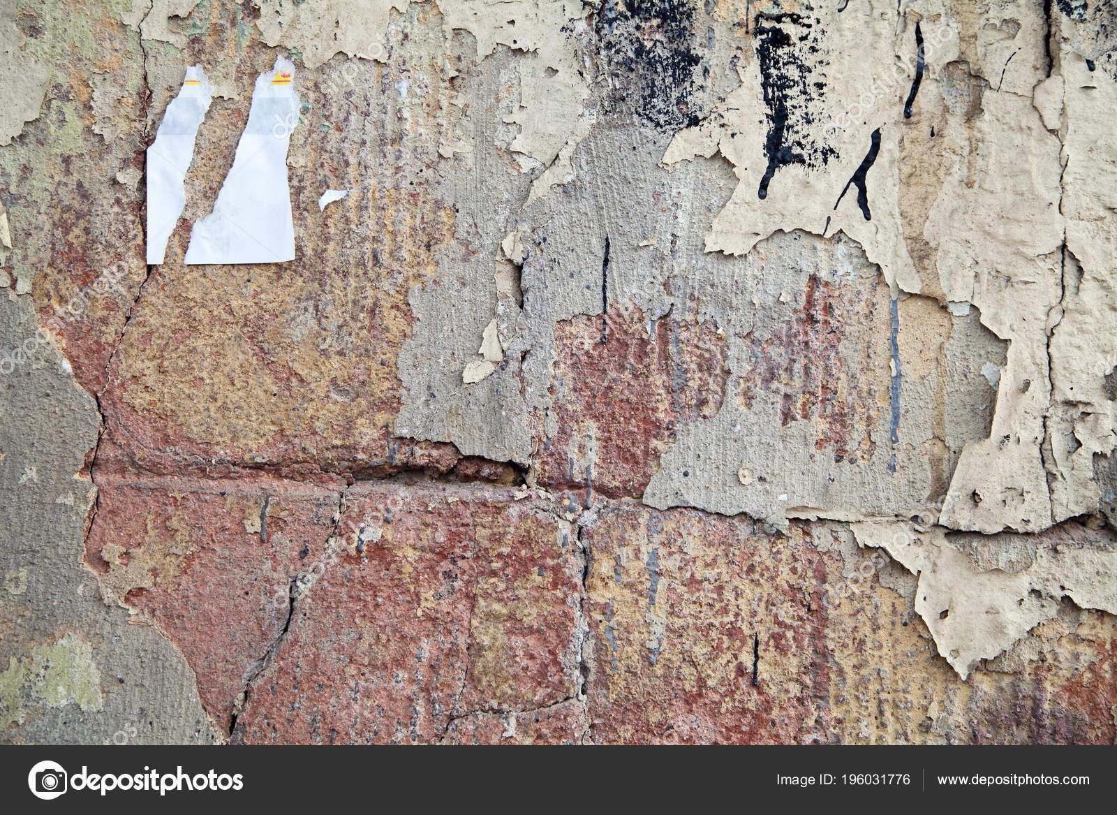 Old Wall Broken Stucco Brick Texture Abstract — Stock Photo intérieur Casse Brick