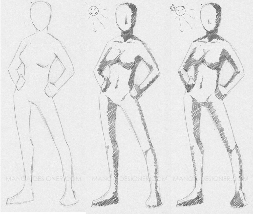 Ombre Et Lumière – Manga-Designer tout Apprendre A Dessiner Les Ombres