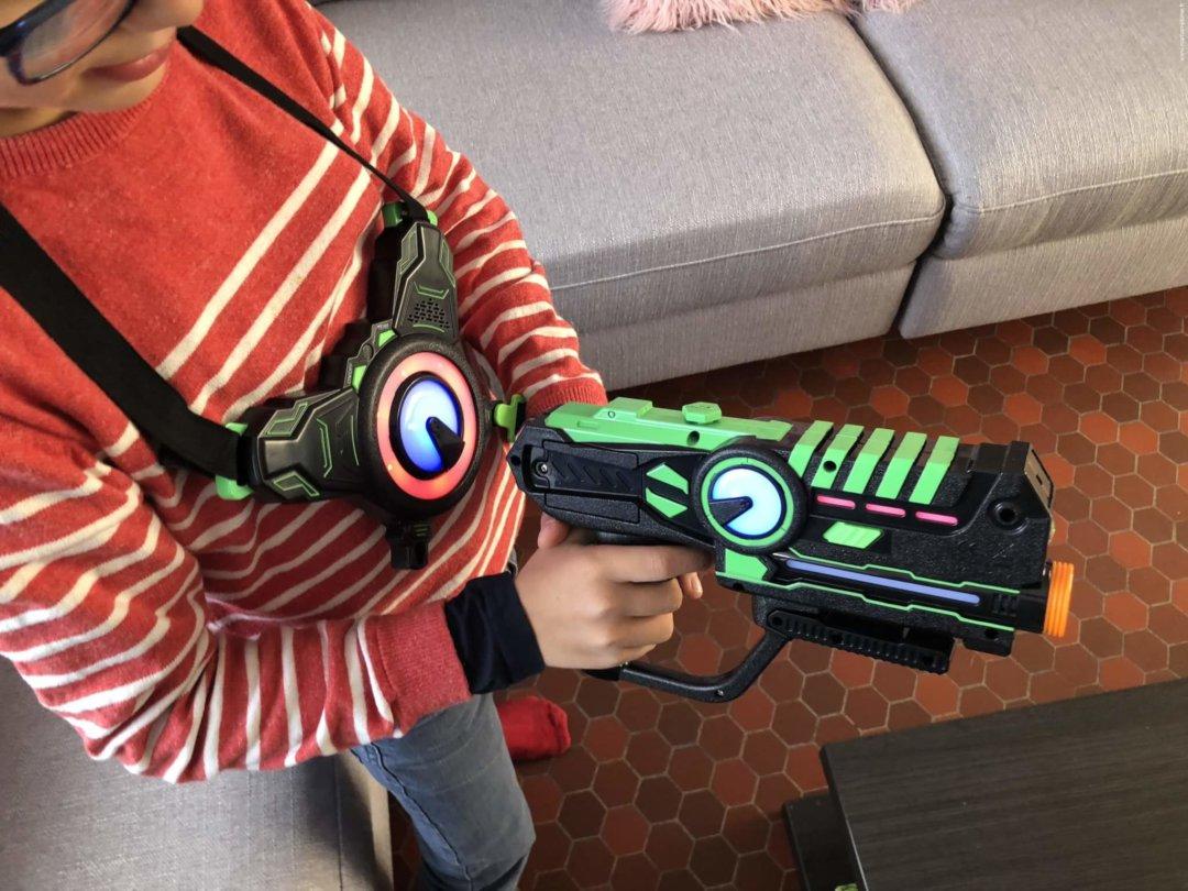 On A Testé Le Laser Game À La Maison ! | Le Blog De Maman Plume avec Jeux Flash Enfant
