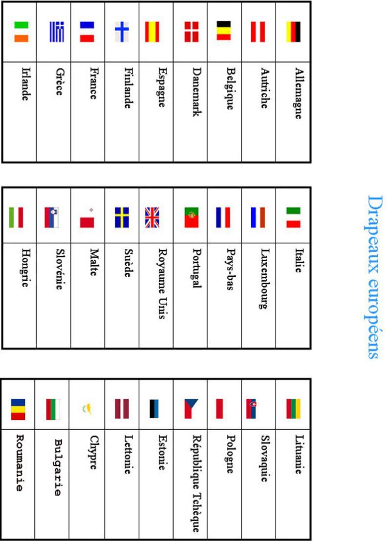 On | Drapeau Pays, Drapeau Europe Et Drapeau Européen destiné Drapeaux Européens À Imprimer
