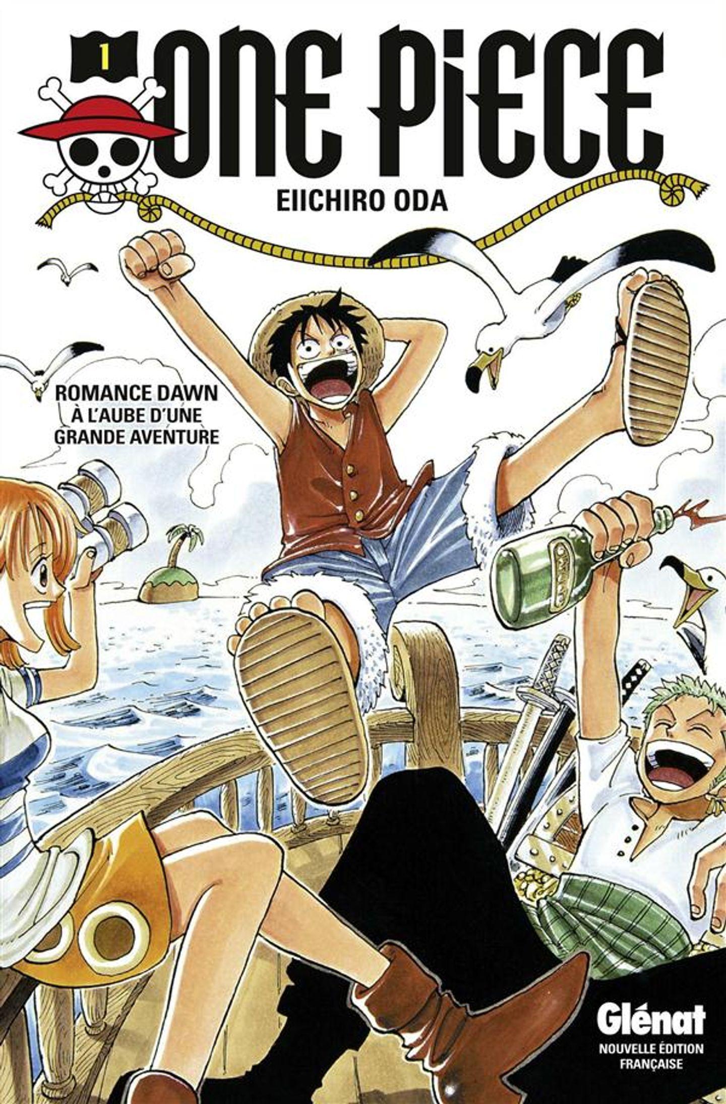 One Piece Classique Glénat, Tome 1 : A L'aube D'une Grande Aventure encequiconcerne Dessin Animé De One Piece