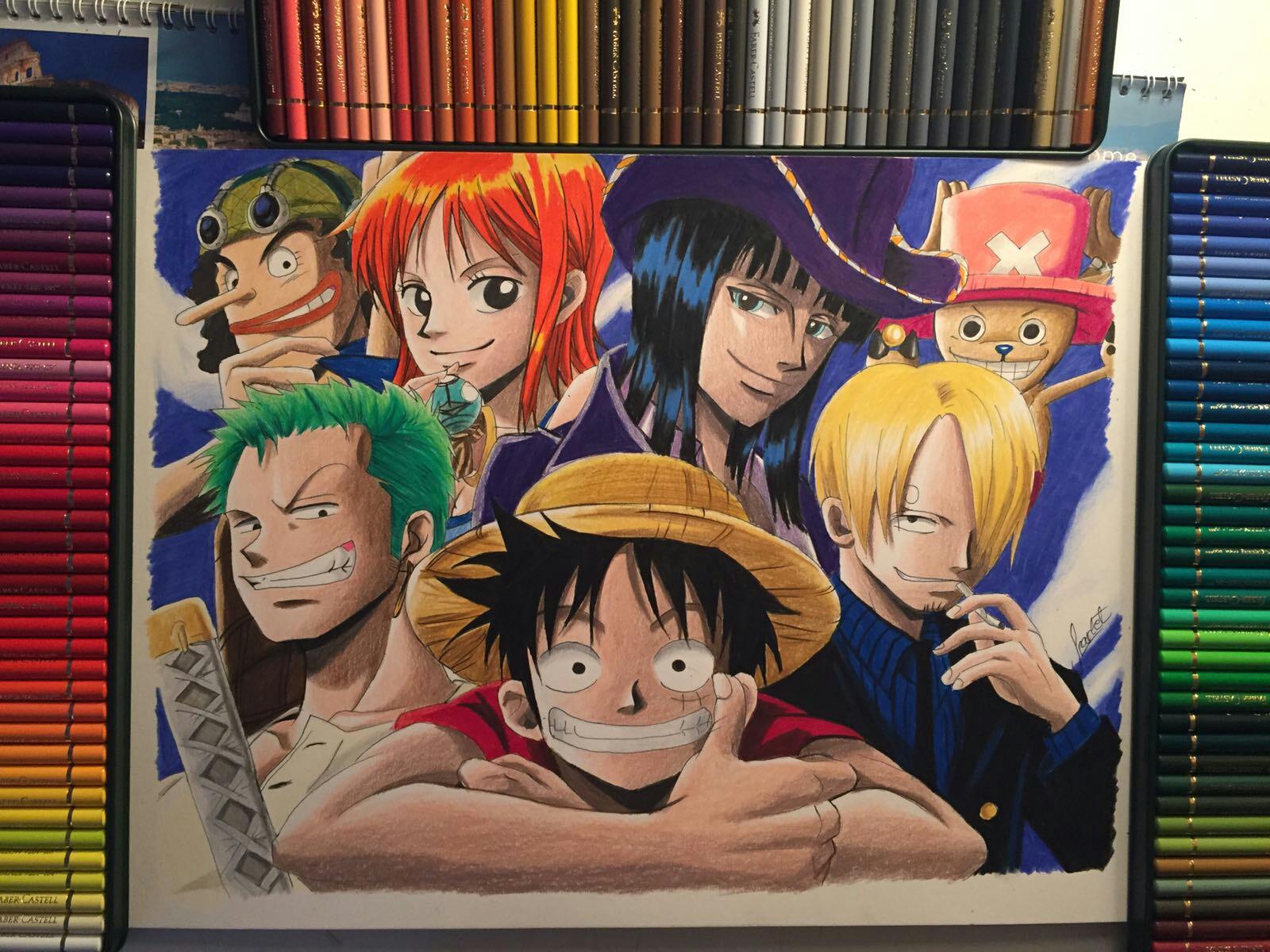 One Piece Drawing At Paintingvalley | Explore Collection pour Dessin Animé De One Piece