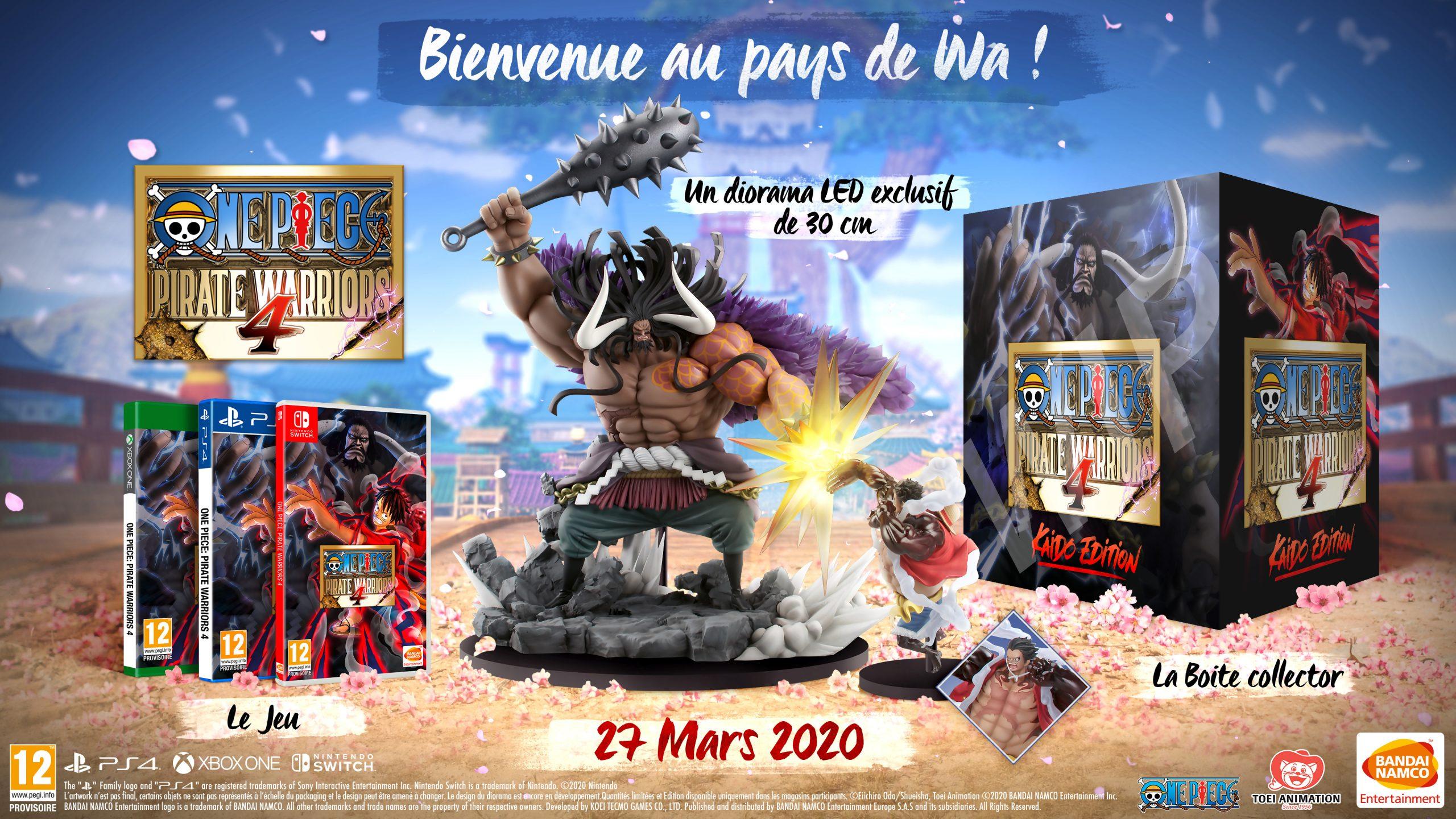 One Piece Pirate Warriors 4 : La Date De Sortie Annoncée En dedans Jeu Quatre Images