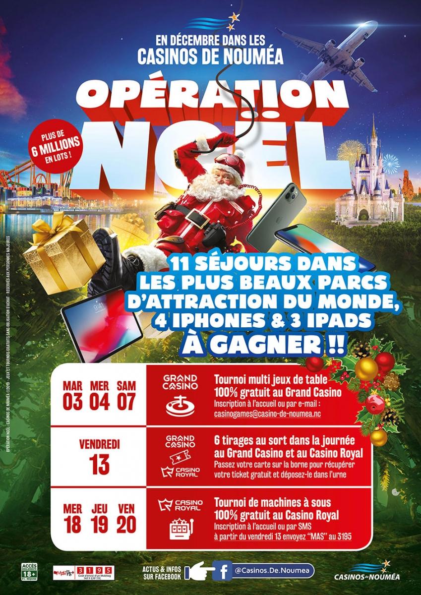 Opération Noël En Décembre ! | Casinos De Nouméa à Jeux De Grand Gratuit