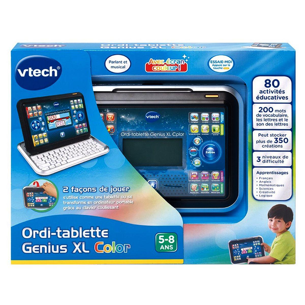 Ordi-Tablette Éducative Genius Xl Noire - Jeux Éducatifs destiné Ordinateur 3 Ans