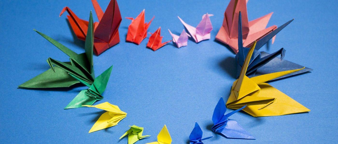 Origami Avec Les Enfants | Yakult avec Pliage Papier Enfant