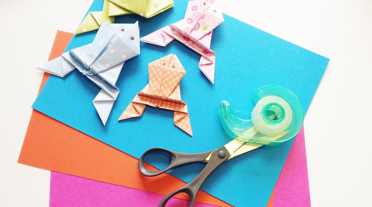 Origami Et Bricolages En Papier - Bricolages - Momes pour Pliage Papier Enfant