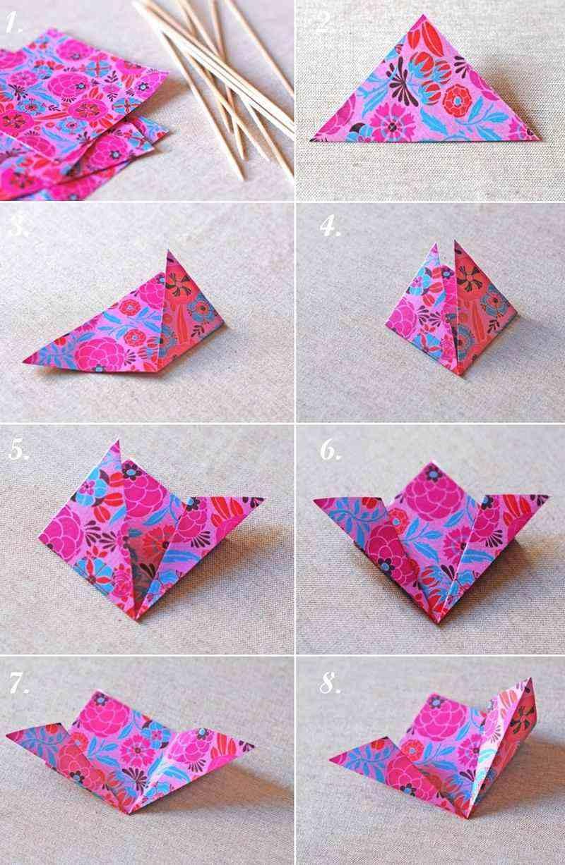 Origami Facile - 100 Idées De Pliage Papier Facile Pour concernant Decoupage Papier Facile