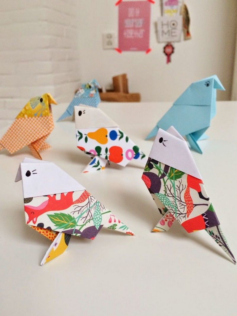 Origami Facile - 100 Idées De Pliage Papier Facile Pour intérieur Pliage Papier Enfant