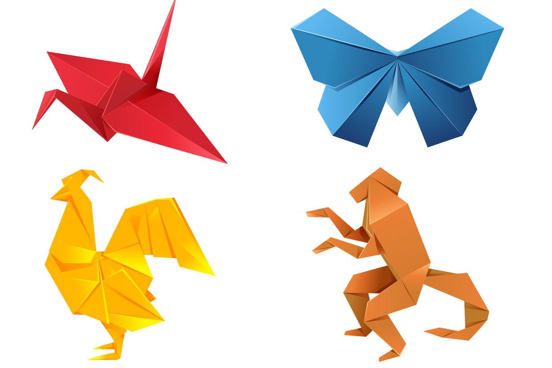 Origami (Pliage Papier) : Idées De Créations Et Conseils à Pliage Papier Enfant