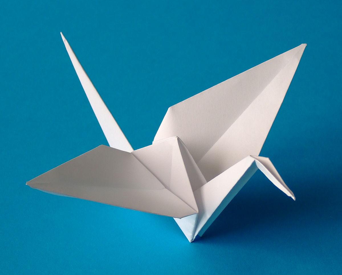 Origami — Wikipédia intérieur Decoupage Papier Facile