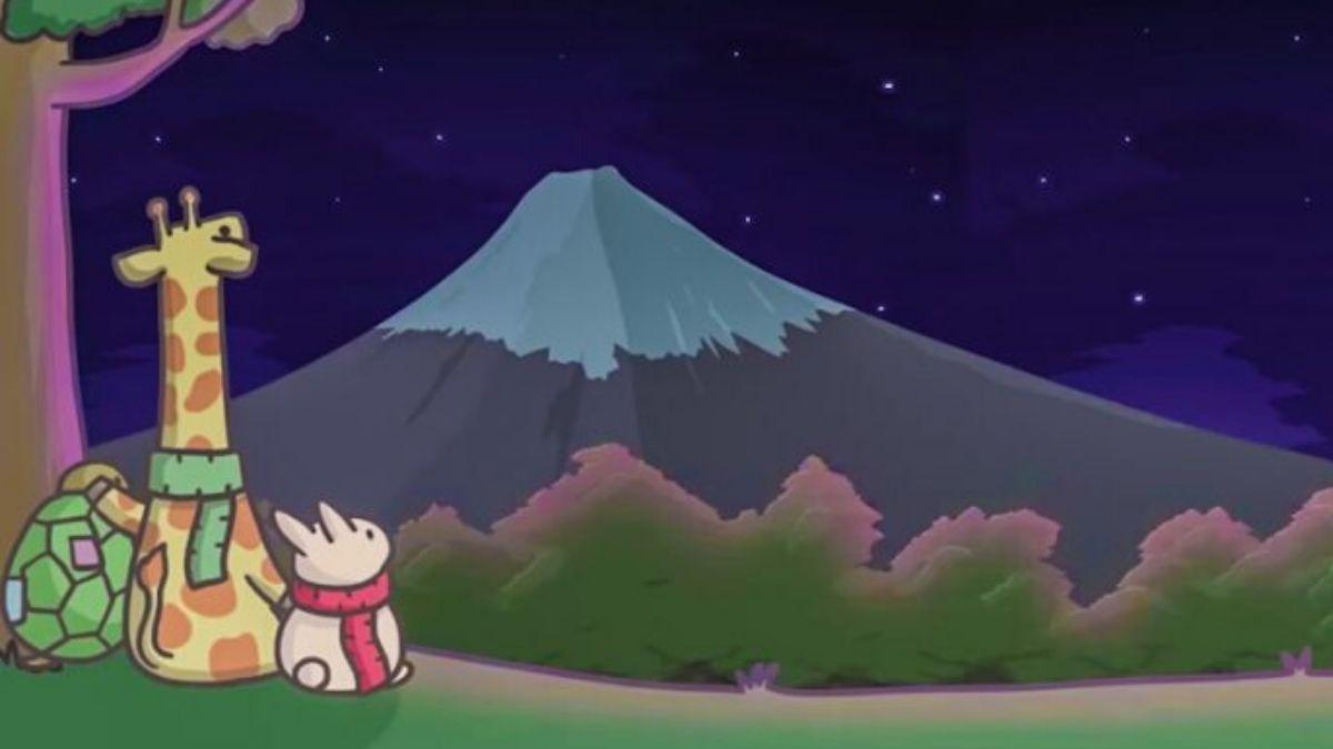 Oubliez Le Stress De La Vie En Incarnant Tsuki, Un Adorable pour Jeux De Girafe Gratuit