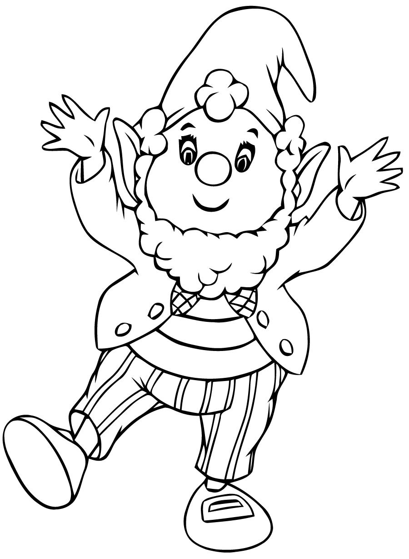 Oui-Oui #90 (Dessins Animés) – Coloriages À Imprimer dedans Coloriage Pantin