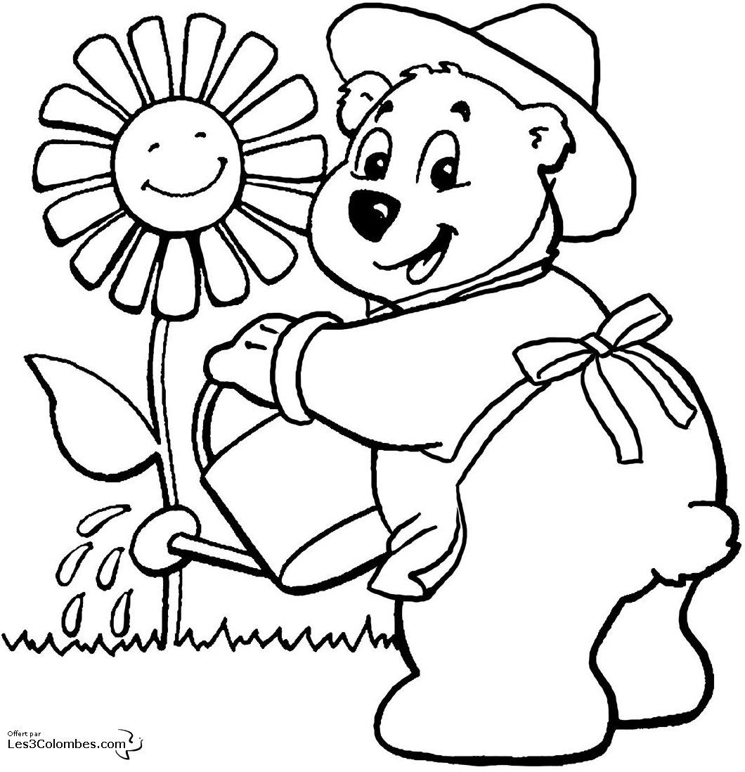 Ours #56 (Animaux) – Coloriages À Imprimer tout Dessin Pour Enfant À Colorier