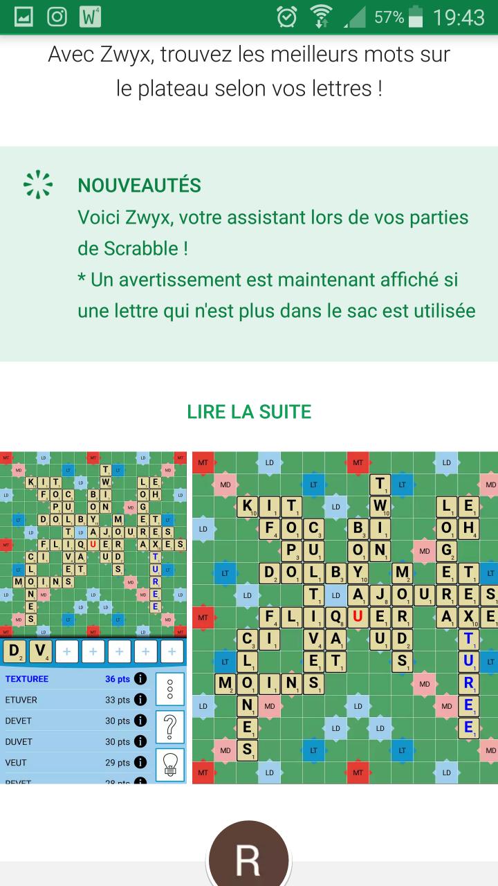 Outils Pour S'entraîner Au Scrabble - Scrabble Plesséen pour Jeux De Lettres Gratuits