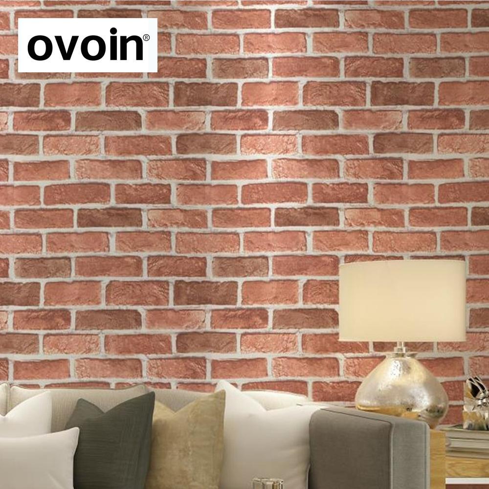 Ovoin Wallpaper - Cegla Retro Brick Brown (#526457) - Hd concernant Casse Brick