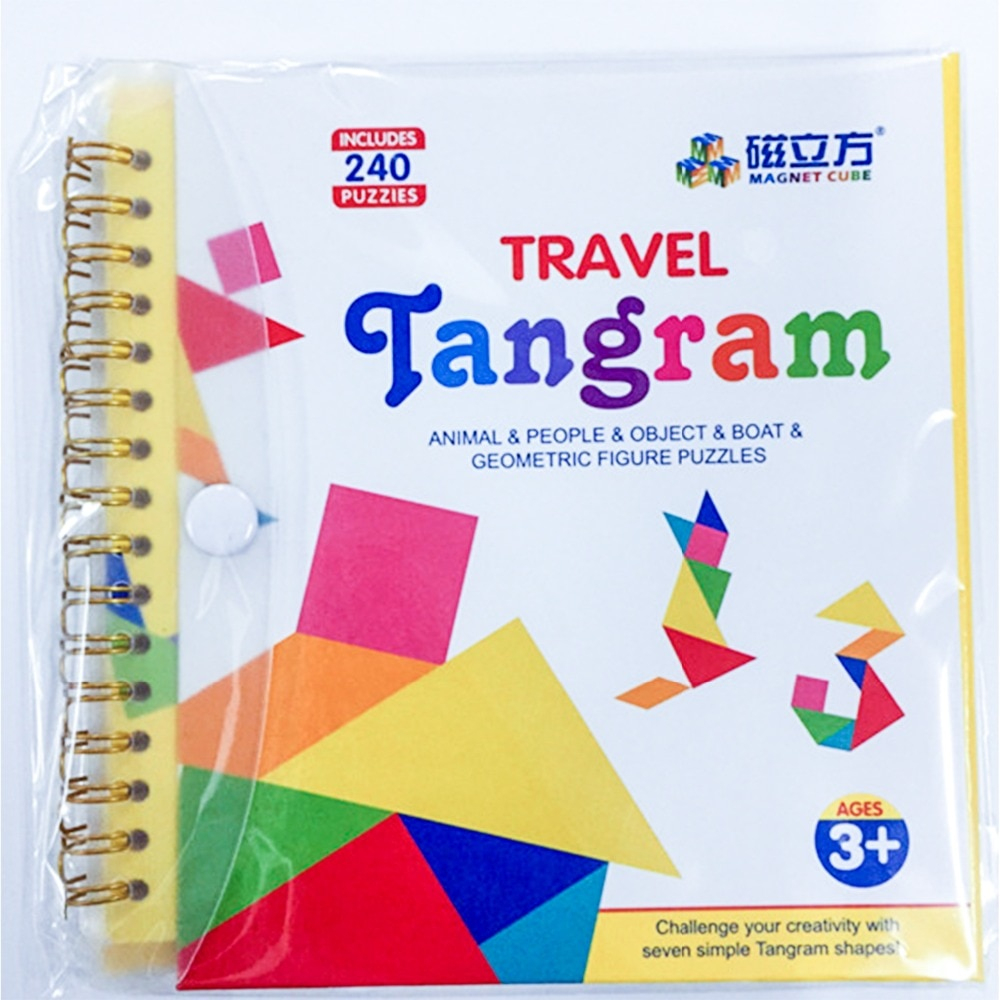 Oyuncaklar Ve Hobi Ürünleri'ten Bulmacalar'de 240 Yap Boz concernant Tangram Simple
