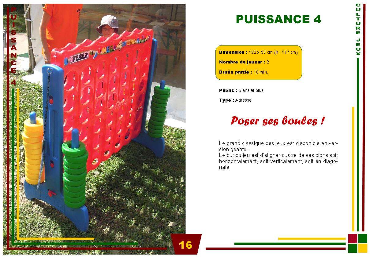 P16-Puissance4 | Culture Jeux à Jeux Du Puissance 4