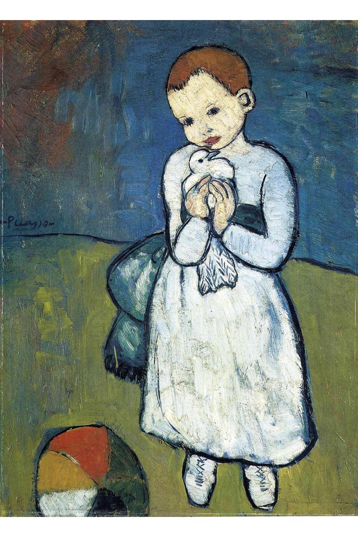 Pablo Picasso : L'enfant À La Colombe - 24 Pièces Puzzle Michèle Wilson encequiconcerne Puzzle En Ligne Enfant