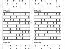 Pack N° 1 De 10 Grilles De Sudoku 9X9 / Niveau Facile concernant Mots Fléchés Facile À Imprimer