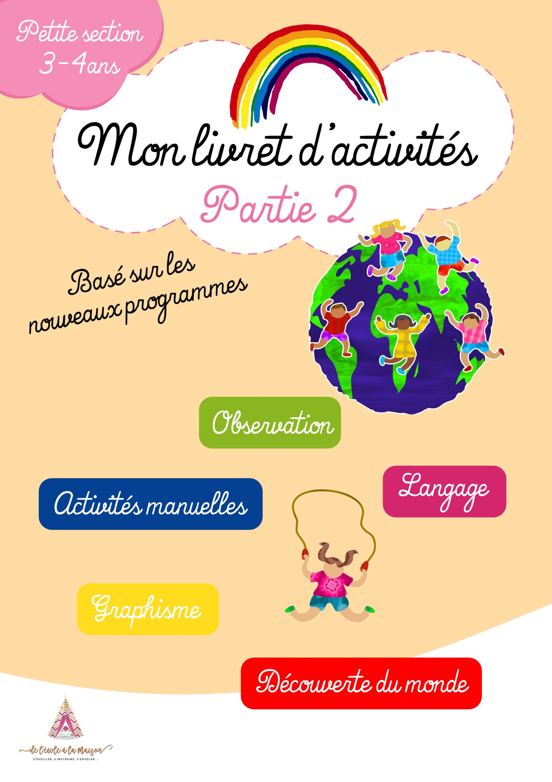 Pack Petite Section Maternelle serapportantà Exercice Maternelle Petite Section