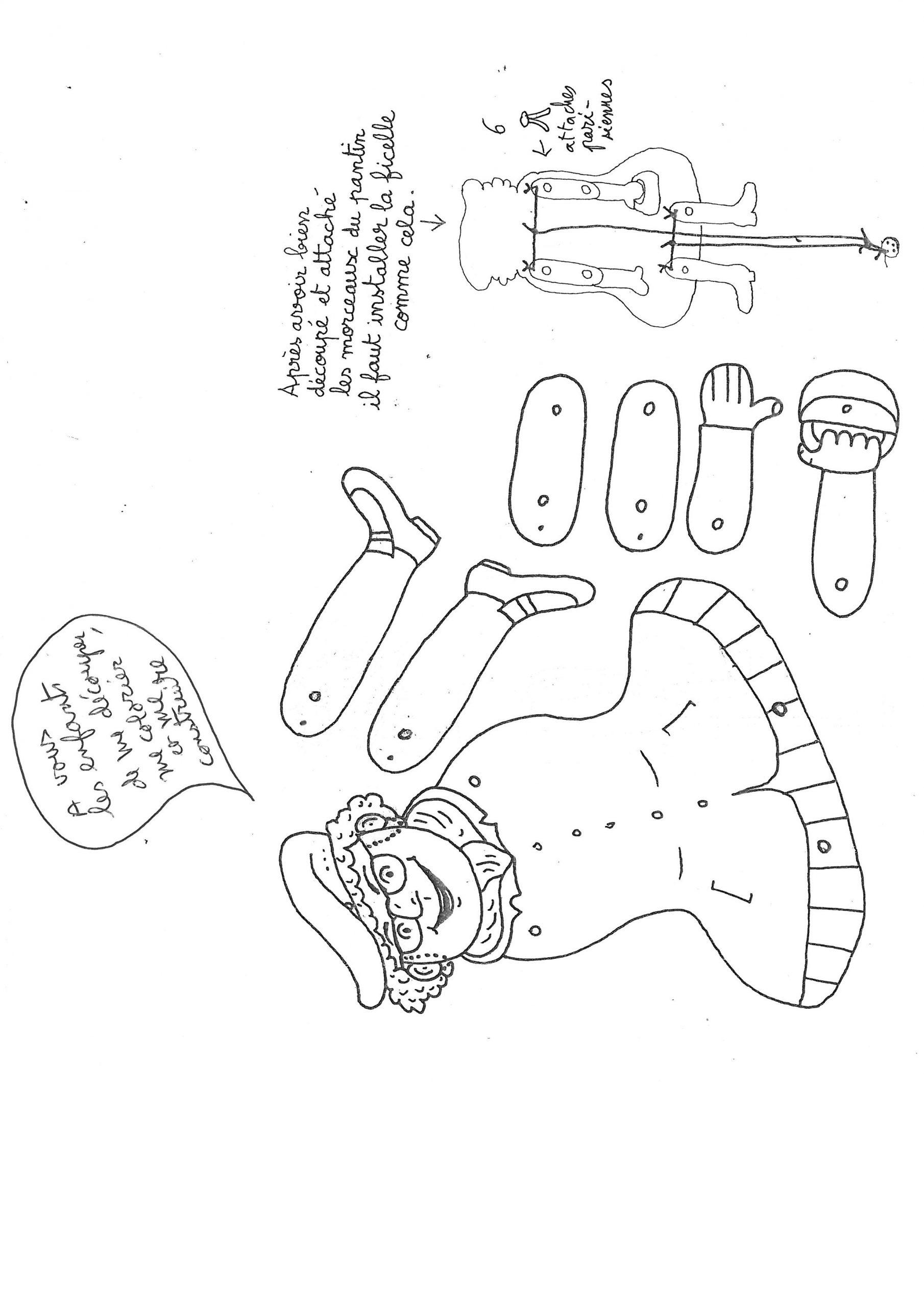 Page 1 - Le Découpage concernant Decoupage A Imprimer