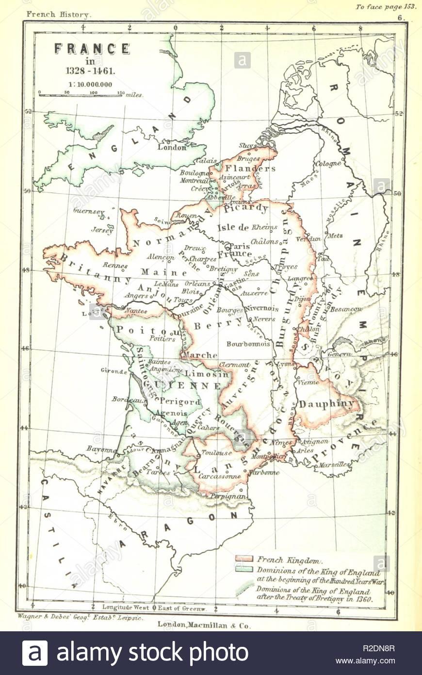 """Page 184 De """"l'histoire De France Pour Les Enfants Anglais destiné Carte De France Pour Les Enfants"""