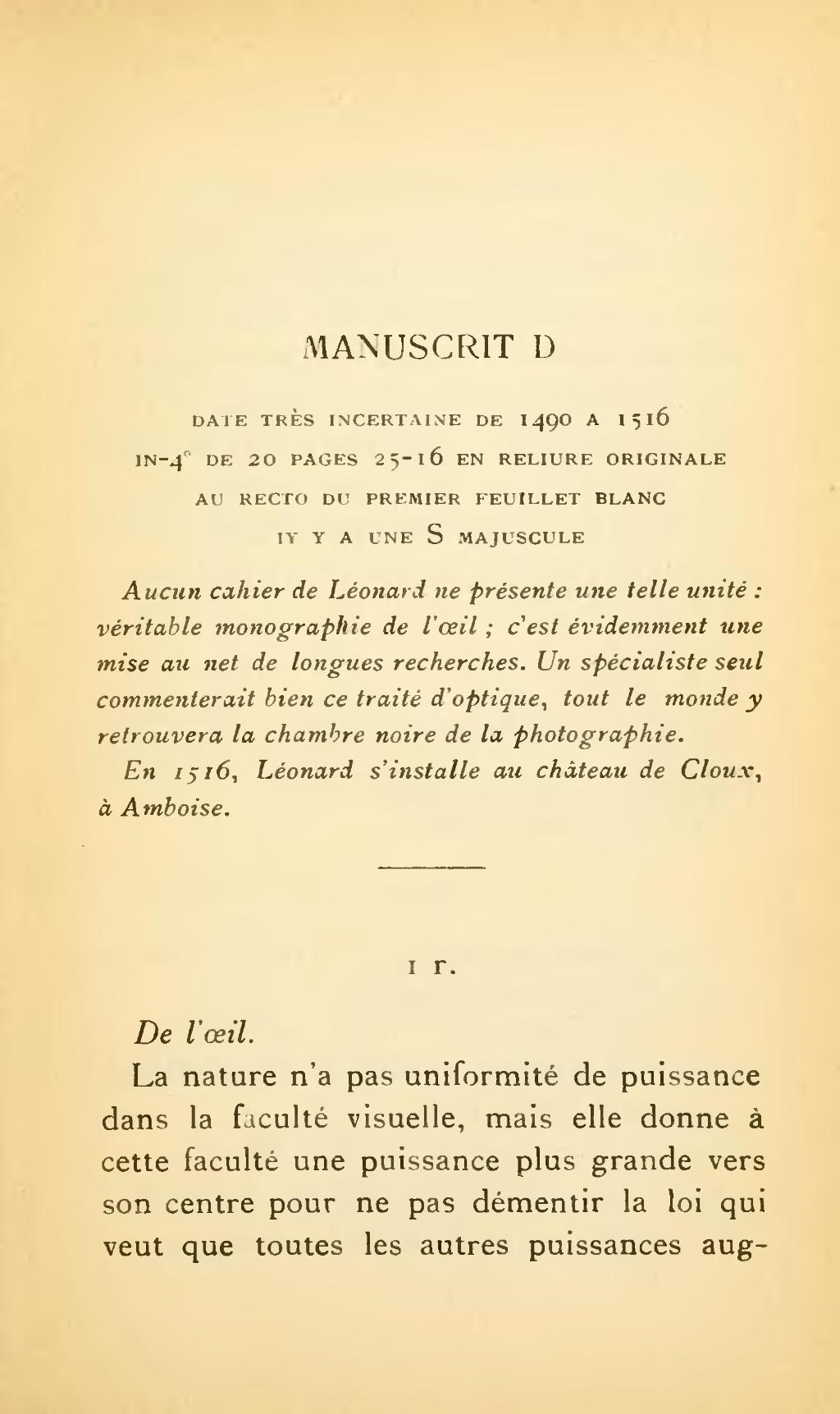 Page:léonard De Vinci - 14 Manuscrits.djvu/393 - Wikisource serapportantà Cahier Majuscule