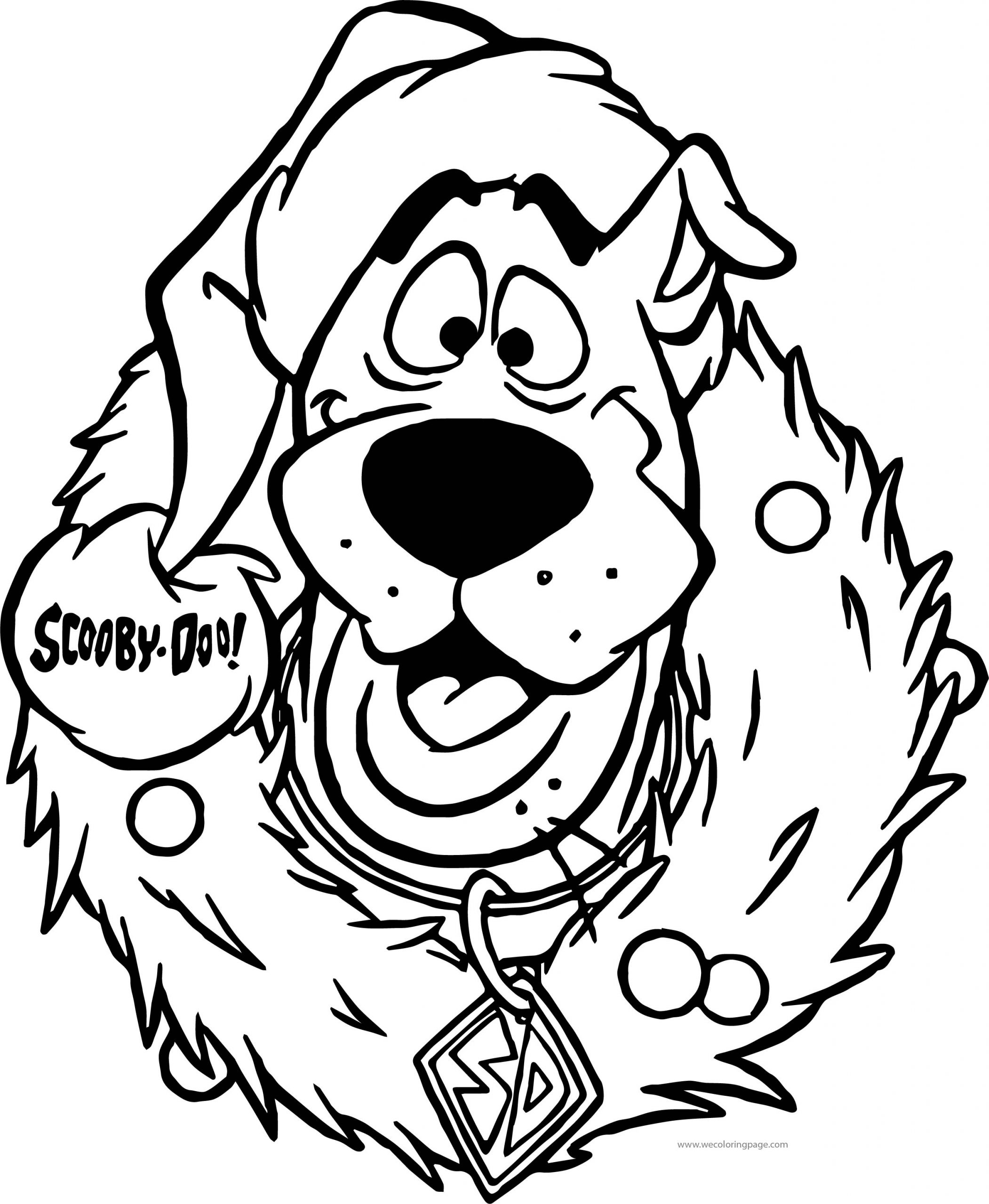 Pages Coloring ~ Pages Coloring Scooby Doo Drawing The avec Scooby Doo À Colorier