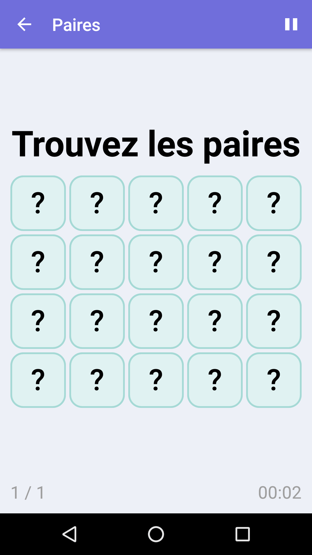 Paires : Jeu De Mémoire Gratuit Pour Iphone & Android destiné Jeux Memoire Gratuit