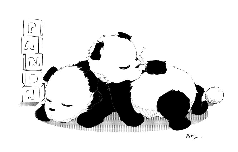 Panda #110 (Animaux) – Coloriages À Imprimer concernant Panda À Colorier