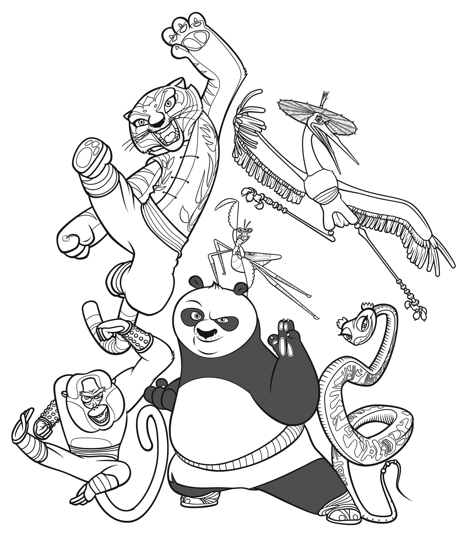 Panda #16 (Animaux) – Coloriages À Imprimer intérieur Panda À Colorier