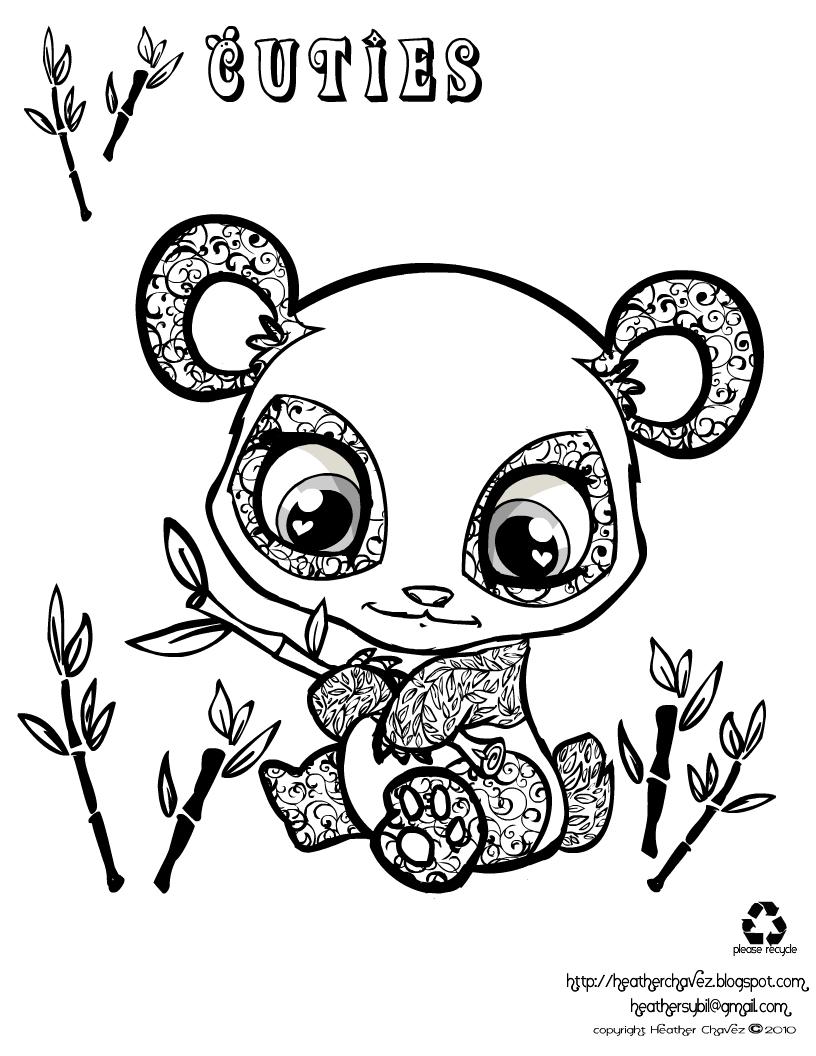Panda #3 (Animaux) – Coloriages À Imprimer destiné Panda À Colorier