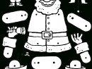 Pantin Père Noël - Kiddicoloriage serapportantà Dessins Pere Noel Imprimer