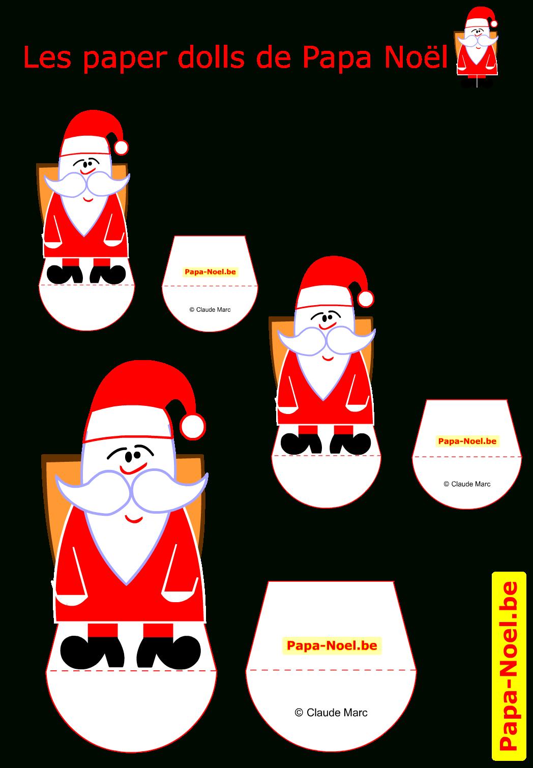 Paper Doll Papa Noel Enfant A Imprimer Pere Noël Jouet En encequiconcerne Pere Noel A Imprimer Et A Decouper