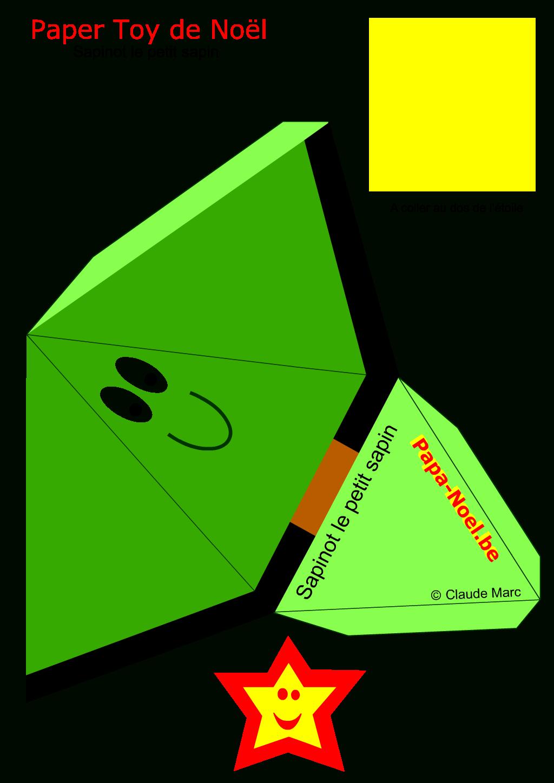 Paper Toy Noel Enfants Jouet En Papier A Imprimer Sapin De tout Paper Toy A Imprimer