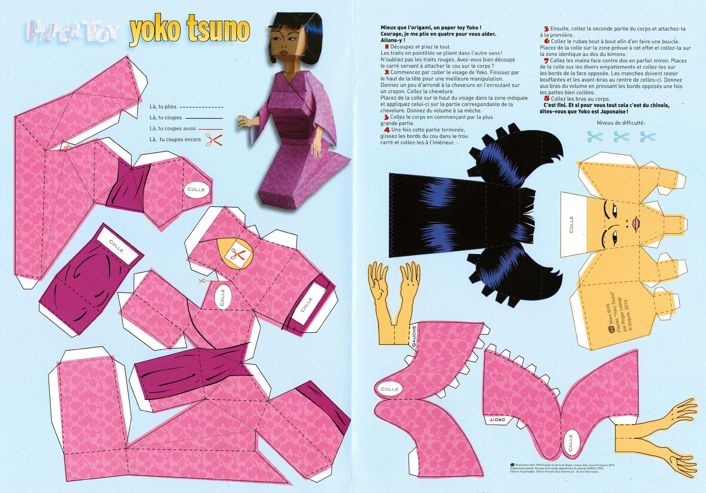 Paper Toy - Pesquisa Google serapportantà Paper Toy Gratuit