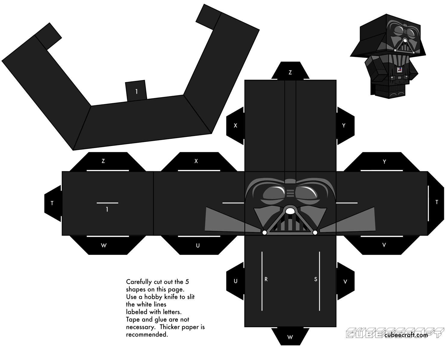Paper Toys À Imprimer & Colorier : Animaux, Star Wars à Paper Toy Gratuit