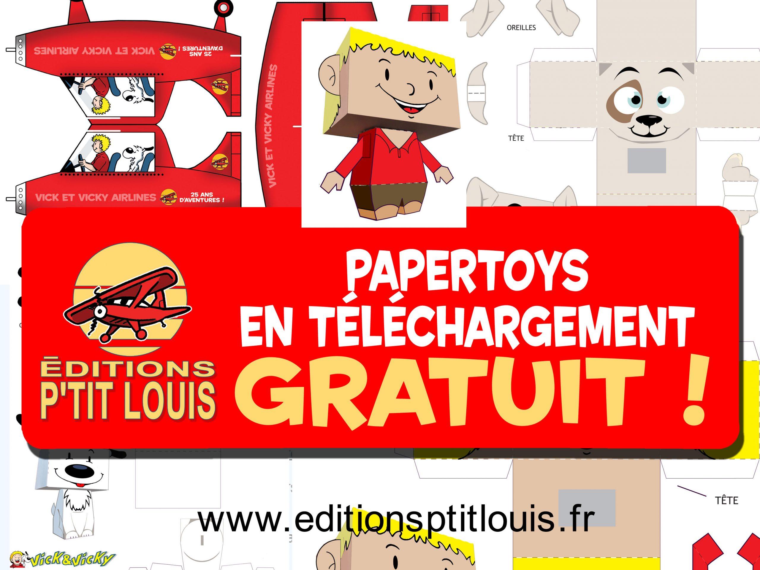 Paper Toys Gratuits - Bd En Bretagne Et D'ailleurs avec Paper Toy Gratuit